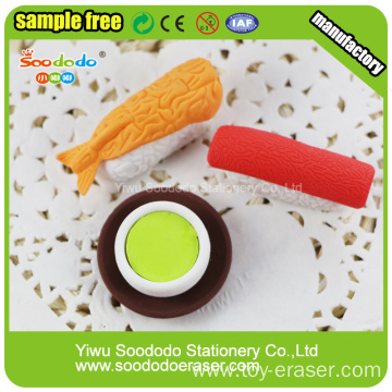 Small size 3d Square Bottle  Eraser stationery supply